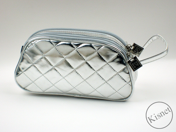 78101b33736 Glitz Silver Twin Zipped Purse with Loop by Danielle of London. Click  thumbnail ...